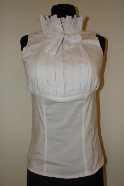 Блузки Шёлка С Жабо